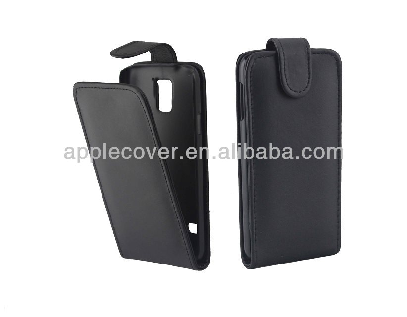 for samsung galaxy S5 flip cover Black