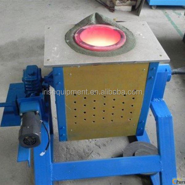 manual tilting induction melting furnace /oven