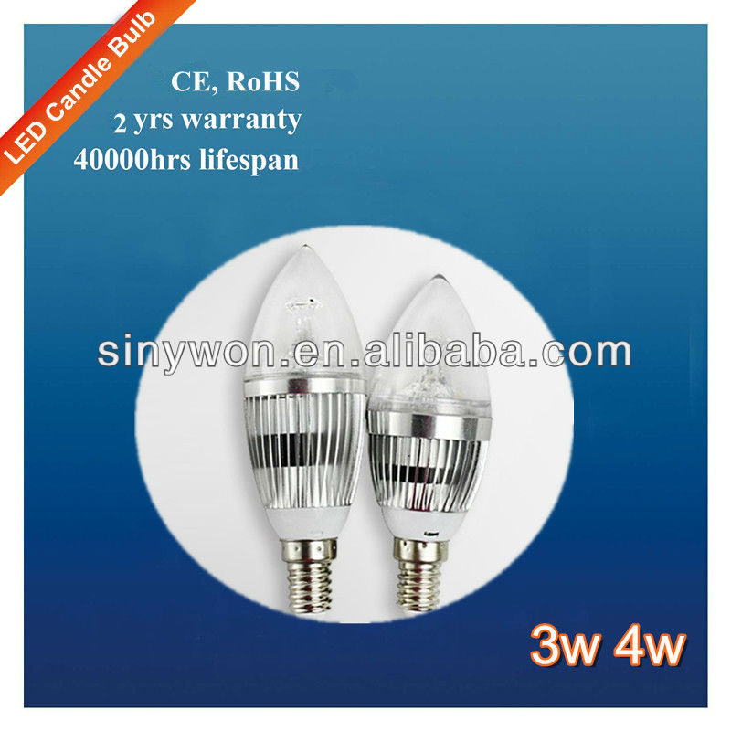 Normal Model Cool White e14 LED Flicker Flame Candle Light Bulbs