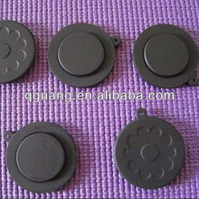Waterproof stopper made of silicone rubber