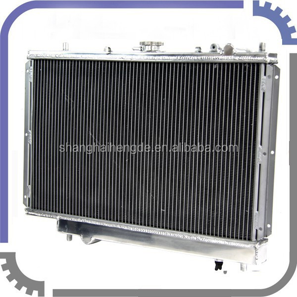 high performance Protege LX WITH VICS 1.8L BP ENGINE 1989-1994 automobile radiator