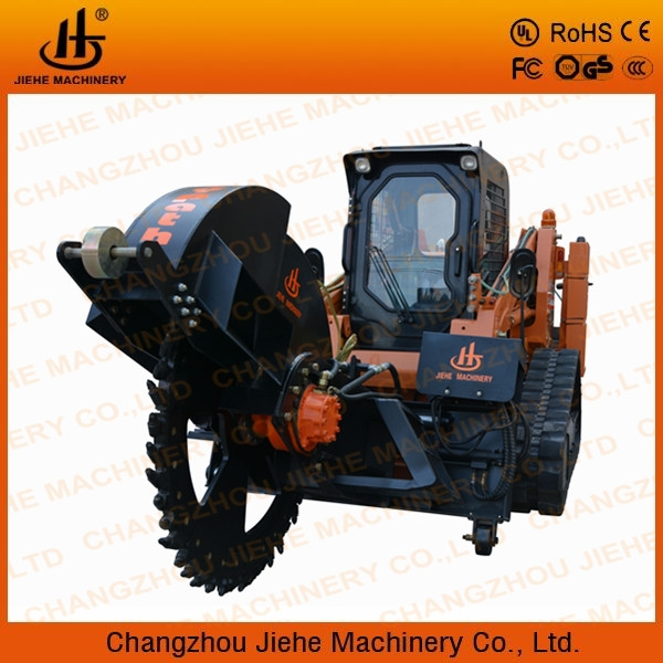 concrete surface ditch witch trencher with air condition JHK600