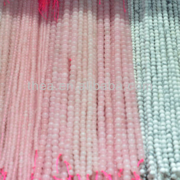 2013 Hot sale white turquoise natural stone loose beads with pink beads like the shower curtain alibaba express