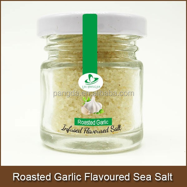 Roasted Garlic Flavoured Sea Salt