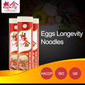 OEM Wholesale Dried Eggs noodles Birthaday Pasta Bulk Chinese Food