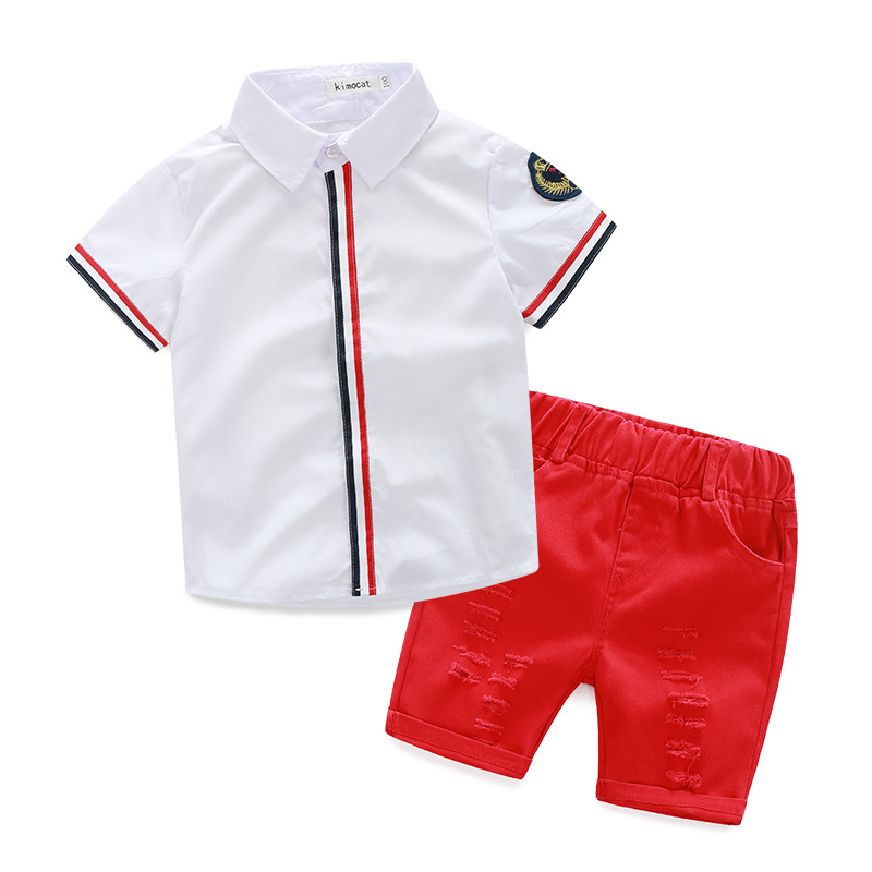 China cheap carters children clothes factory direct sale sumer set for <strong>kids</strong>
