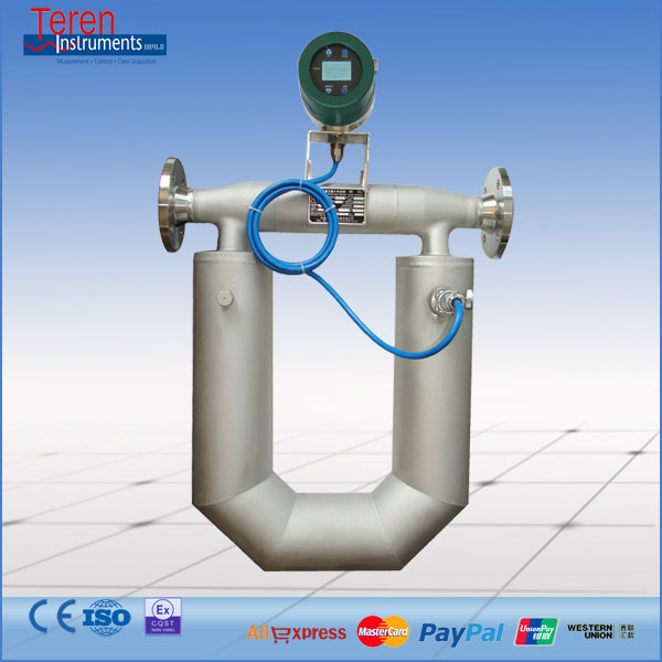 Intelligent Digital Coriolis Liquid Hydraulic Oil Mass Flow Meter