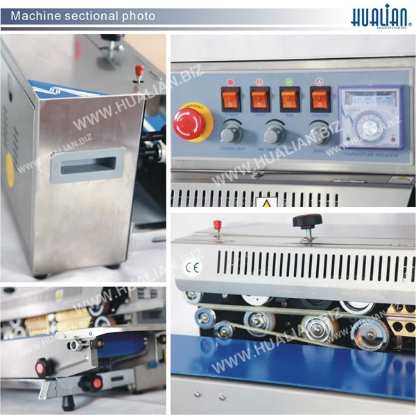 HUALIAN 2017 Manual Sealing Machine