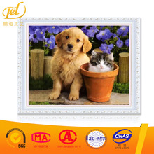Beauty home decor art print painting indoor room resin decoration diamond painting Cute dog PD(B)(281)