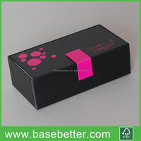 Wine Glass Paper Box Gift Box Packaging Box Black
