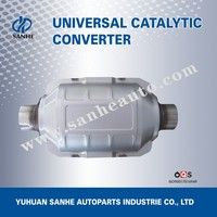 Universal Exhaust Pipe Type Exhaust System Ceramic Monolith Catalytic Converter