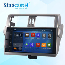 "10.1"" Capacitive Touch screen 5.1.1 O.S android car navi for toyota Prado"