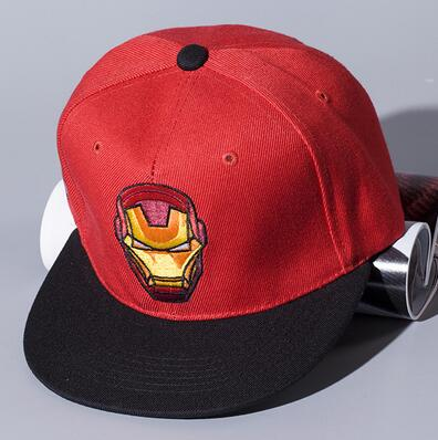 the transformers embroidery red blue black colorful printing cotton snapback baseball hiphop flat caps and hats made in china
