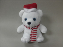 Plush teddy bear for Christmas cheap plush toy customize character toy