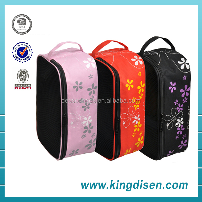 2015 new fashion personalized ballroom dance shoe bags for ladies