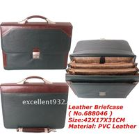No.688046 Latest Leather briefcase