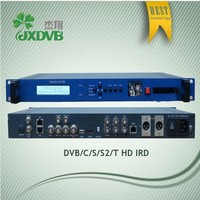Digital Satellite IRD Receiver with monitor window