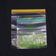 OEM plastic custom design bag zip lock large plastic zipper