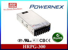 [PowerNex] Meanwell HRPG-300-24 (300W 24V 0~14A) Full Range Input/Single Output Power Supply, Enclosed PFC, 1U low profile 38mm