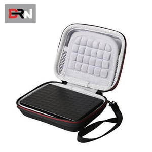 EVA Shockproof Travel Case for Expansion Backup Plus Slim 1TB 2TB 4TB External USB Flash Hard Drive Carry Case
