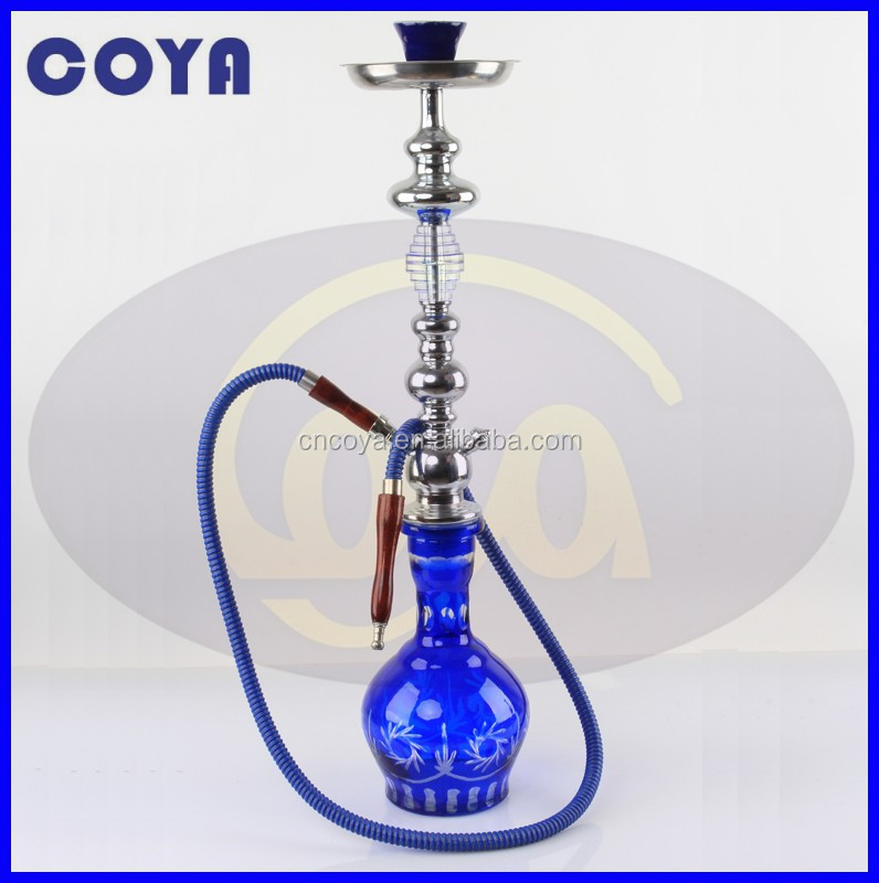 High quality blue sapphire shisha hookah CL-076/water pipe/chicha/nargile