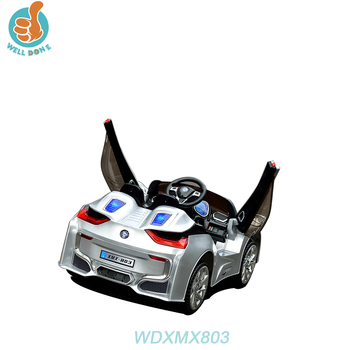 WDXMX803 RC New Two Motor Children Electric Baby Ride On Car For Kids/Muffler Car