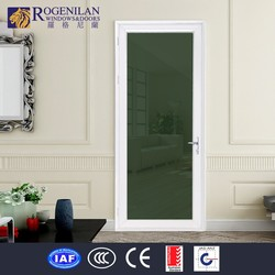 ROGENILAN-75 free standing fire rated commercial aluminum glass door frame