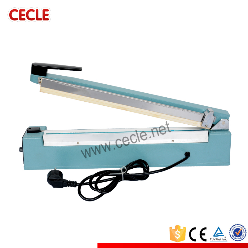 Small size plastic rice bag sealing machine