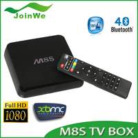 M8S internet tv box Android Smart TV Box Amlogic S812 Chip 4K 2G/8G XBMC Dual band wifi Full HD Android 4.4 tv box codi