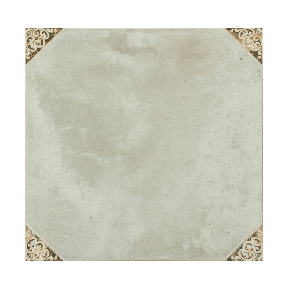 Special flower design mixed color American style porcelain floor rustic tiles