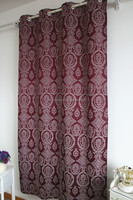 polyester damask jacquard curtains damask design