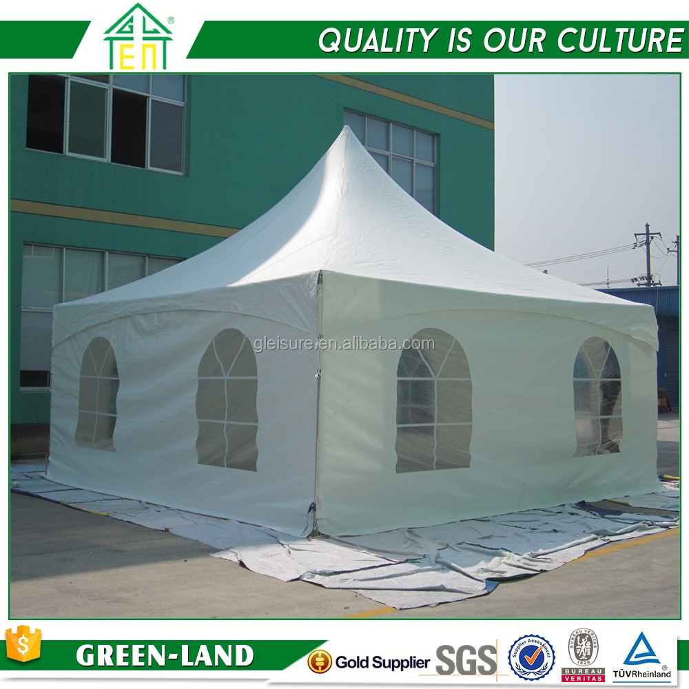 portable pop up tents with sides & logo good quality aluminum frame