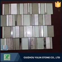 Cheap wholesale marble mosaic tile table top