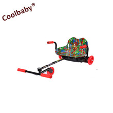 COOLBABY Classic design foldable kids use 3 wheel electric mobility scooter