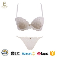Hot sell girl beach sets sexy lady bra and panty set with mesh sexy hot lace designer bra and panty set