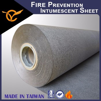 Certified Generates High Expansion Fire Prevention Intumescent Sheet