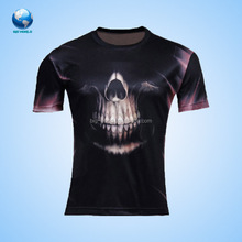 factory custom china supplier full print striper t shirt for man