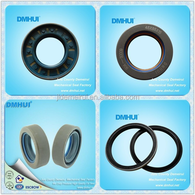 Rubber seal tractor lip seal metal shell
