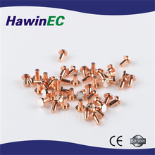Compounded silver bimetal electric contact
