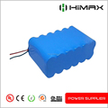 rechargeableable 18650 11.1v lithium Ion battery with PCM Protection Board for headlight led flashlight