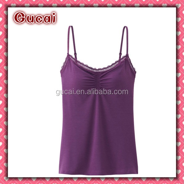 Fashion Sexy Hot Seamless Ladies Nylon Spandex Tank Tops