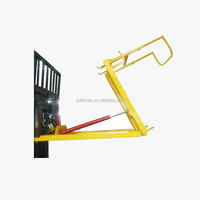 Forklift attachment Bin tipper