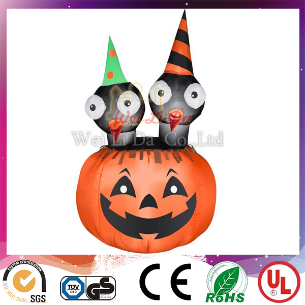 Giant outdoor cartoon halloween inflatable pumpkin with lowest price