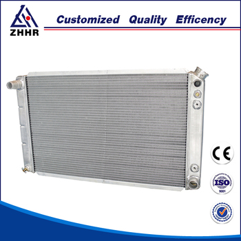 Light weight high efficiency truck radiator