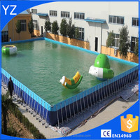 Outdoor Metal Frame Swimming Pool
