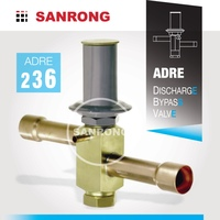 Sanrong Hot Gas Bypass Valve for Compressor Capacity Control, ADRSE-2 ADRS-2 Sporlan Discharge Pressure Bypass Valve