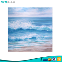 Popular decorative arts abstract seascape canvas oil painting