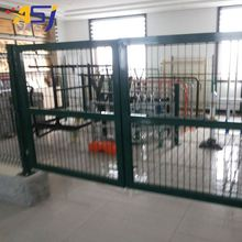 Privacy garden fence gate galvanized flat panel fence gates