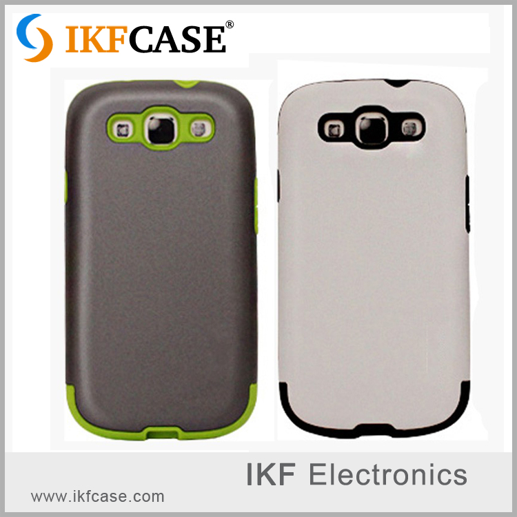 Top Quality Luxury Slim Cool TPU+PC Armor Back Case For Samsung Galaxy S3 I9300 I9308 I9305 I939