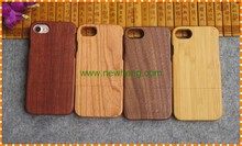 Blank wood phone case cover for iPhone7, wooden phone shell for iPhone 7 plus